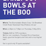QLD Barefoot Bowls at the Boo