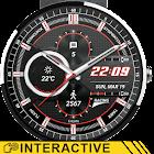 Racing Watch Face & Clock Widget icon