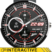Racing Watch Face & Clock Widget