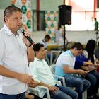 Prefeito Carlin Moura reuniu com os agentes de endemias