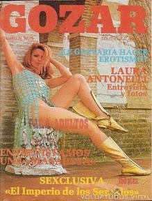Magda Konopka Spanish Magazine Cover Gozar