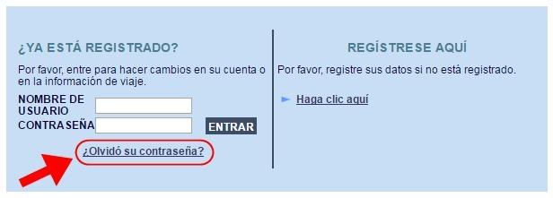 Abrir mi cuenta en Registro de Viajeros - 653