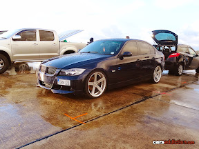 Lowered BMW E90 M Sport