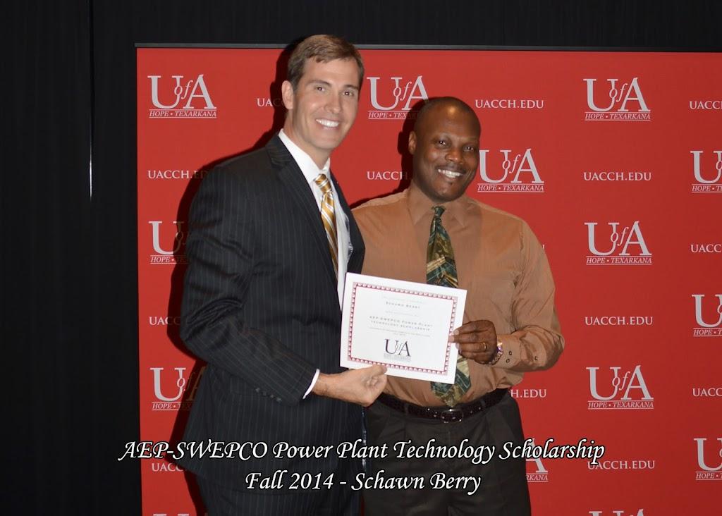 Scholarship Awards Ceremony Fall 2014 - Schawn%2BBerry.jpg