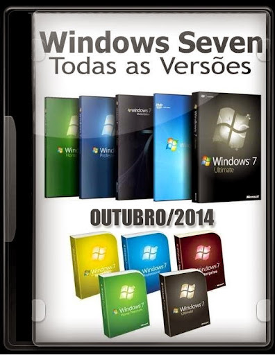 Windows 7 Todas As Versoes x64 Bits Outubro/2014 Atualizado Português BR – Torrent + Ativação Automatica