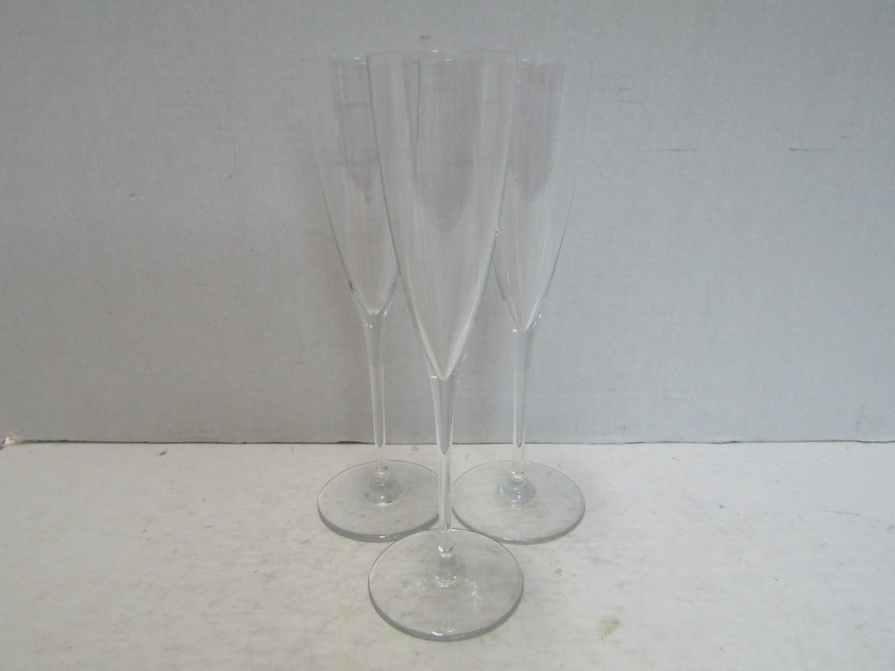 Baccarat Champagne Flute Trio