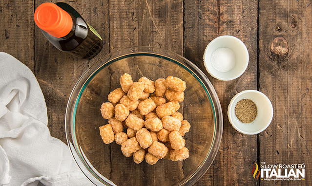 ingredients for tater tots in the air fryer