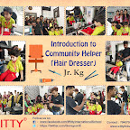 Field Trip to Salon -Introduction to Community helper (Hairdresser) for Jr.Kg Section (2018-19), Witty World, Goregaon East