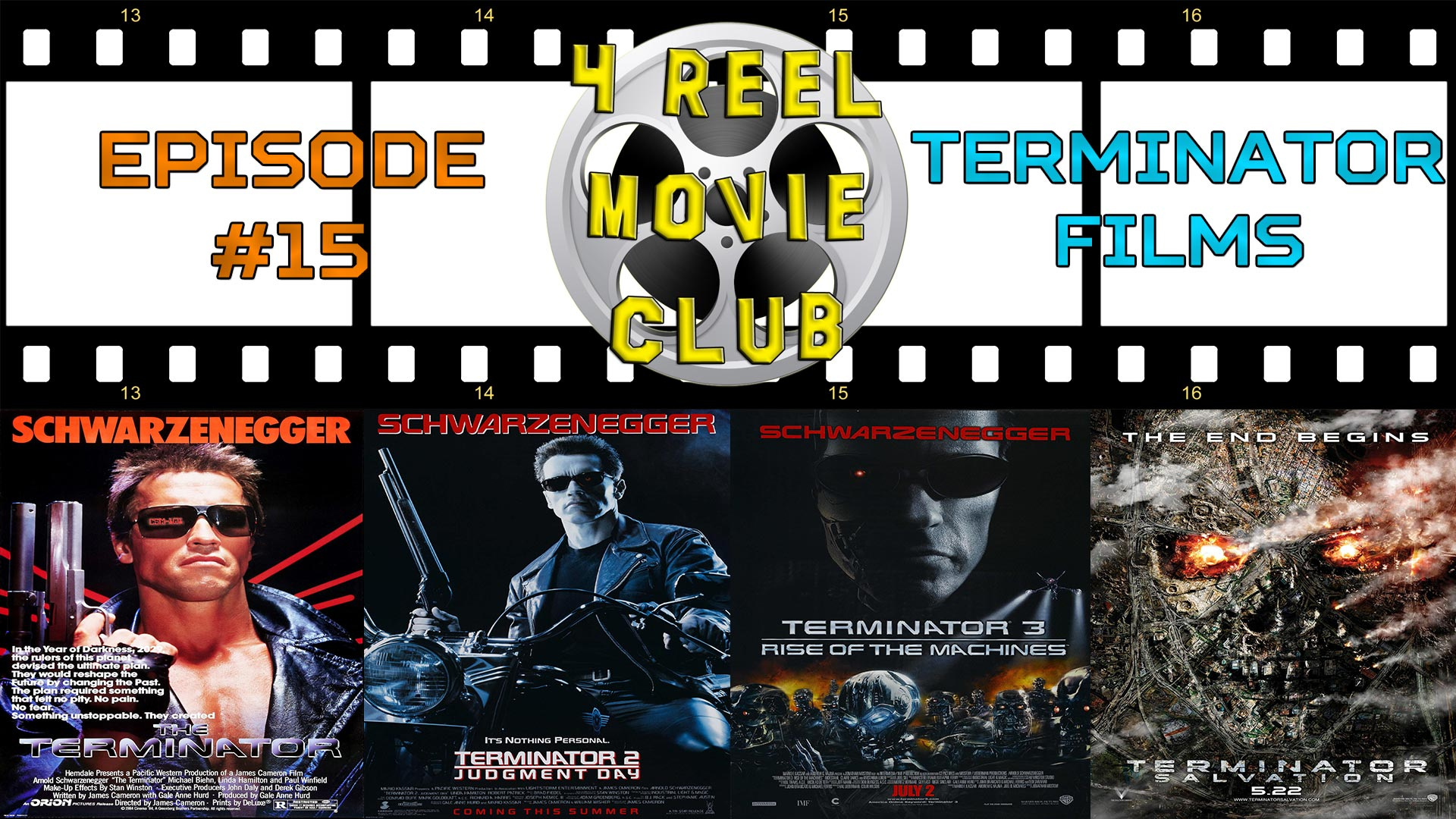 The Terminator, Terminator 2: Judgment Day, Terminator 3: Rise of the Machines, Terminator Salvation