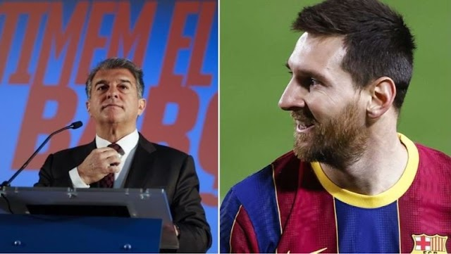 Messi Will Leave Barcelona If I Am Not Elected – Laporta