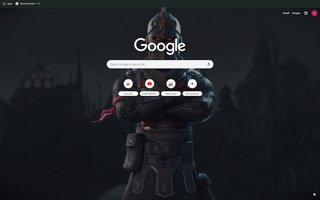 Fortnite Black Knight Theme