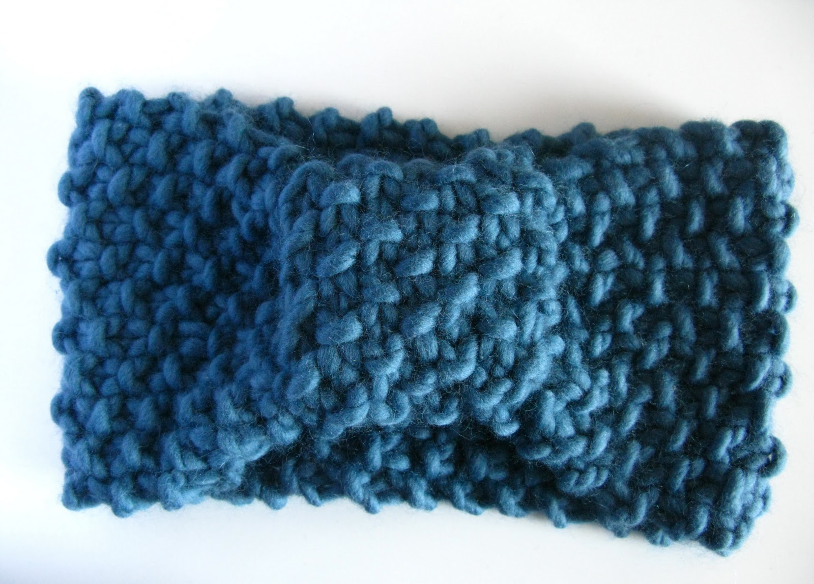 Free Knitting Pattern Chunky Headband : littletheorem: Superchunky Glam Headband