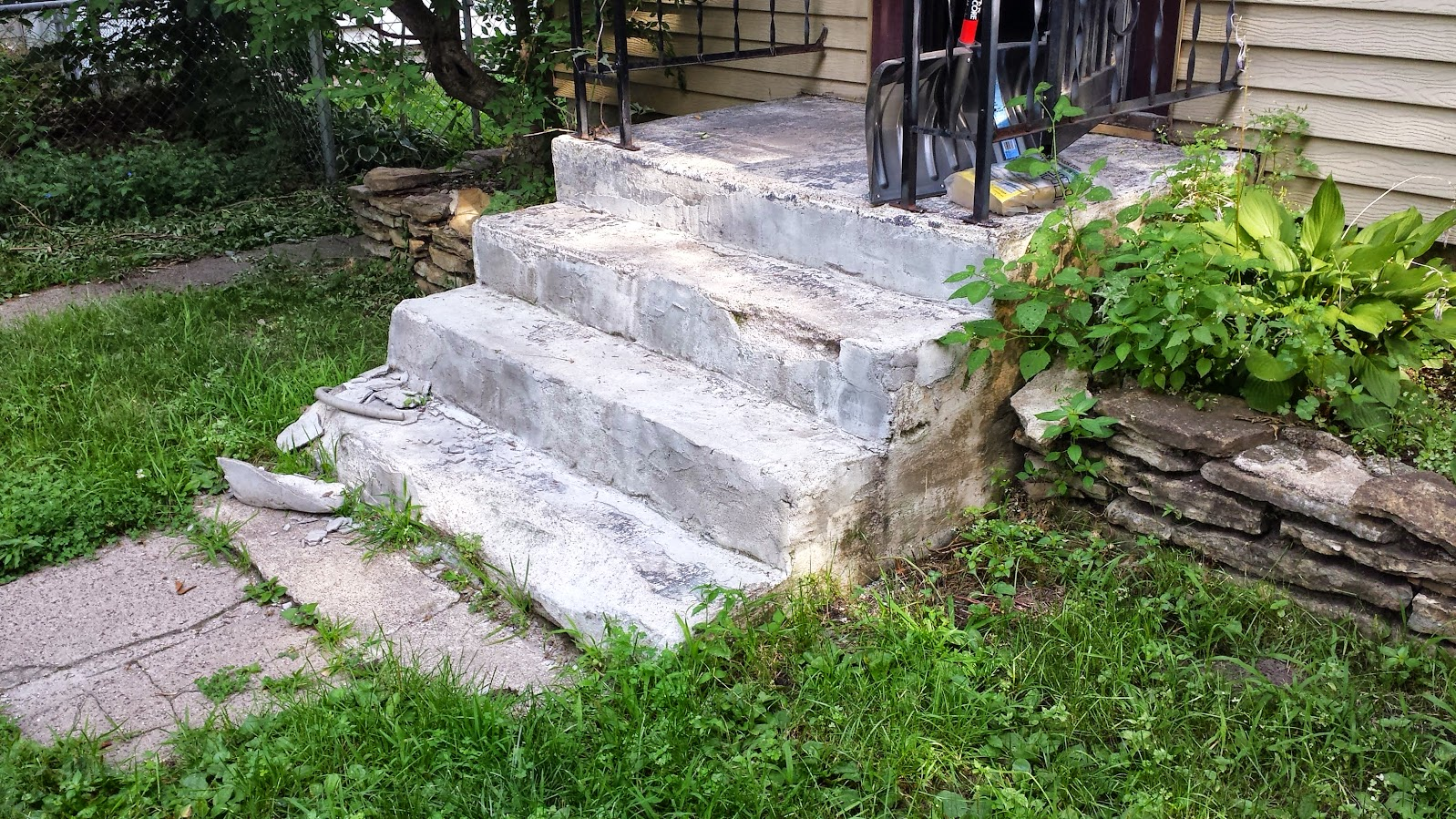 Need advice best repair for old concrete steps for Concrete advice