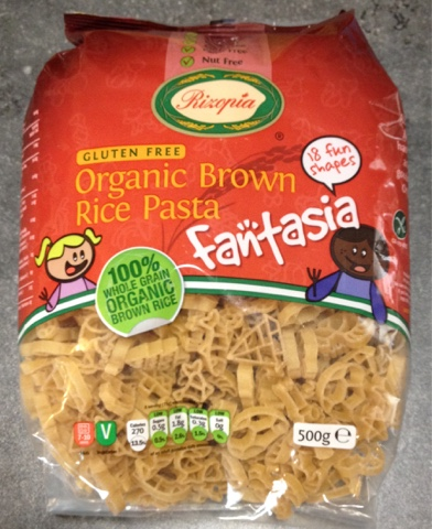 Fantasia - Organic brown rice pasta -Rachel Bustin