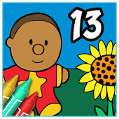 Coloring Book 13: Kid's Stuff
