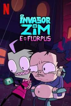 capa Invasor Zim e o Florpus