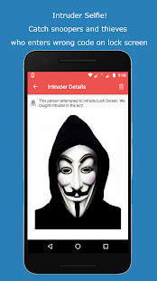 Intruder Catcher: Lock Screen and App protection Screenshot
