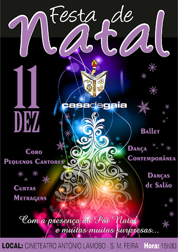 Festa de Natal 2011 - Casa da Gaia