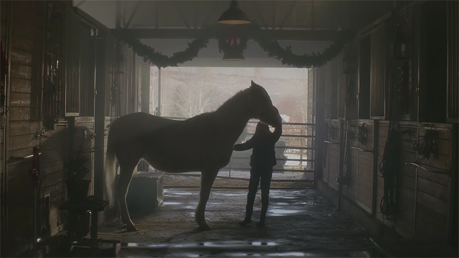 "Purina Animal Nutrition's Heartwarming Christmas Ad ""A Horse Named Sam"""