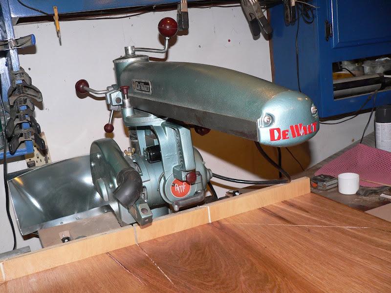 vintage DeWalt Radial arm saw - The Garage Journal Board