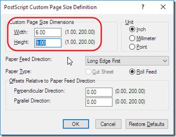 PDF G - Set Page Size - Cute