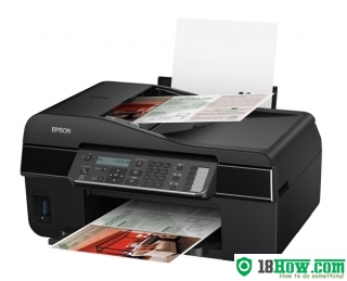 How to Reset Epson WorkForce 435 flashing lights problem