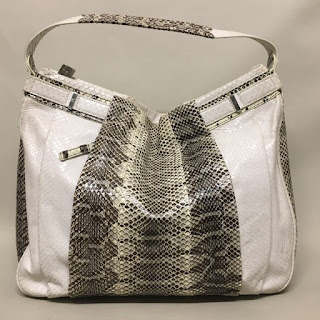 Lambertson Truex Snakeskin Bag