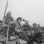 1962.08, Pyrenees,  Mont Perdu, Sam Collett, Sue Tuke, Hugh Nelson, Anthea Tomkins.jpg