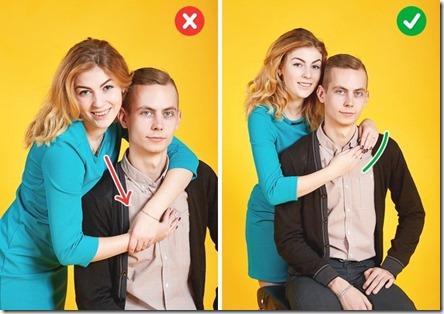 10 sfaturi pentru o poză cuplu perfectă