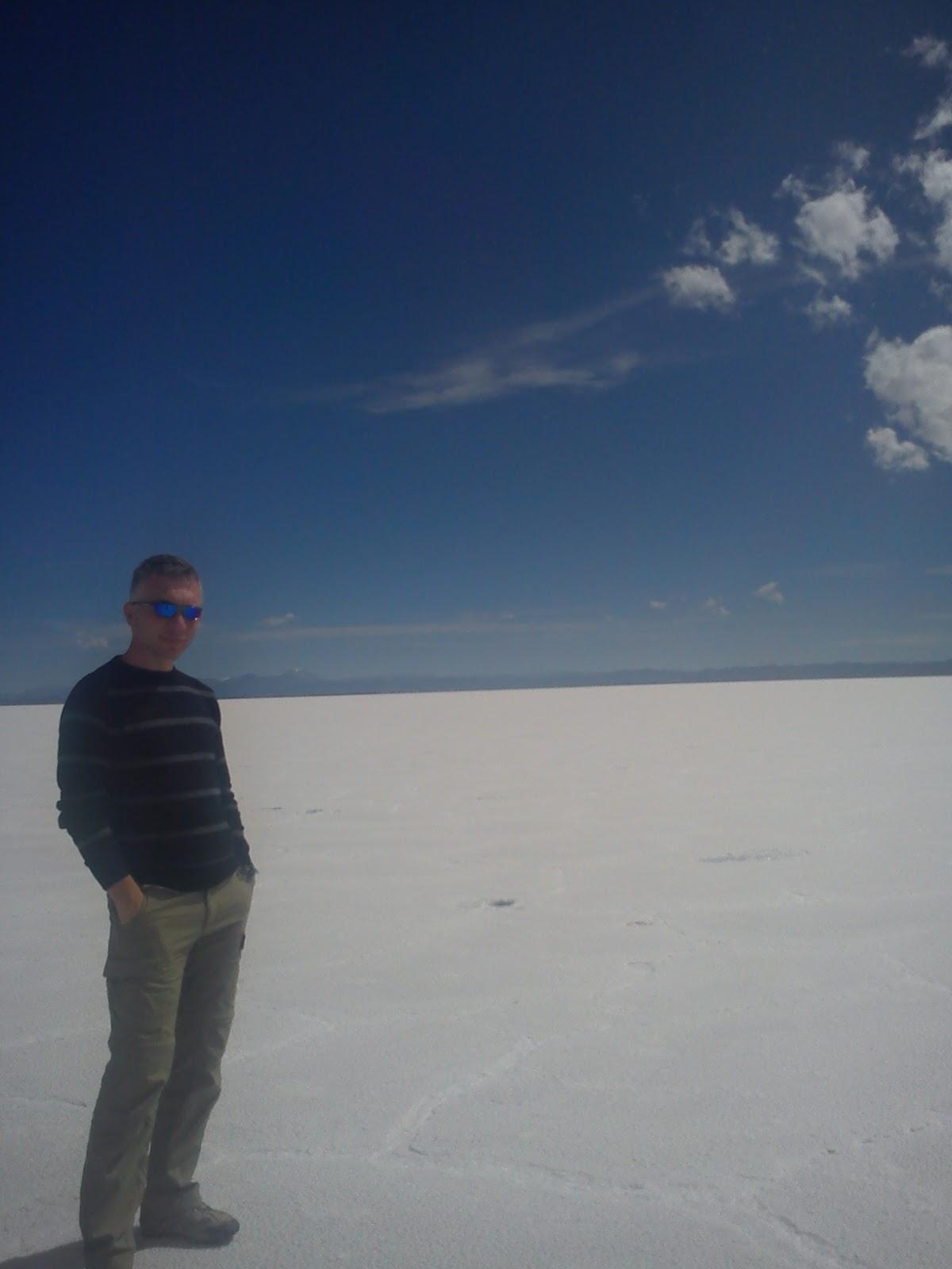 Ypacarai See vor und nach dem Abnehmen