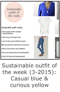sustainable outfit of the week