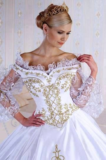 wedding dresses in all different cultures,habits of brides 4