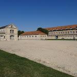 Château de Vincennes : cour intérieure, à dr. pavillon des armes (19e s.)
