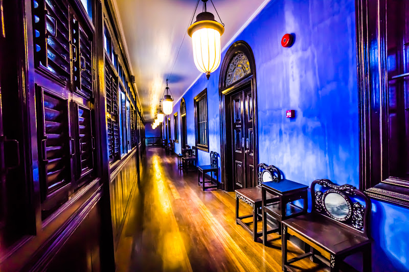 Penang Cheong Fatt Tze Mansion (Blue Mansion) light-up5