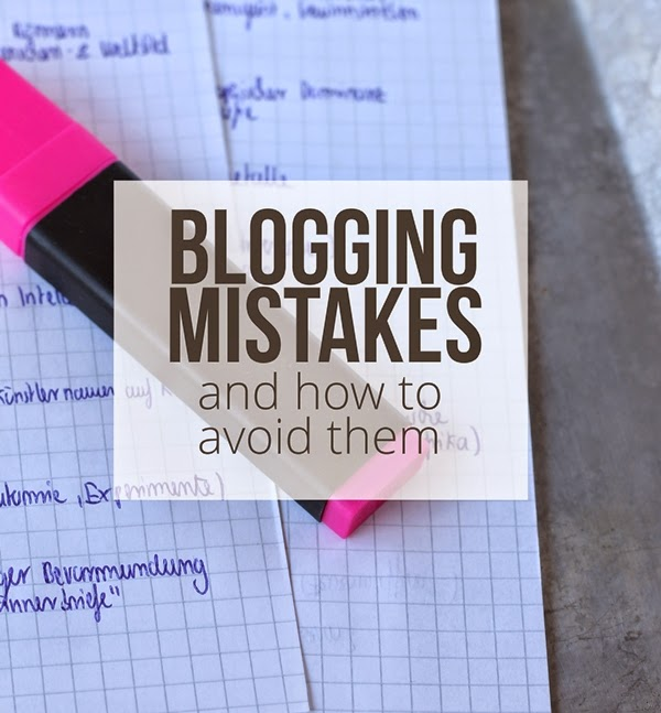 4 blogging mistakes and how to avoid them