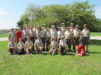 Scouts ready to head off to summer camp