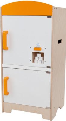 Tủ lạnh sành điệu bằng gỗ Hape Gourmet Fridge