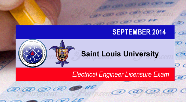 Saint Louis University Tops Sept. 2014 Electrical Engineer Exam
