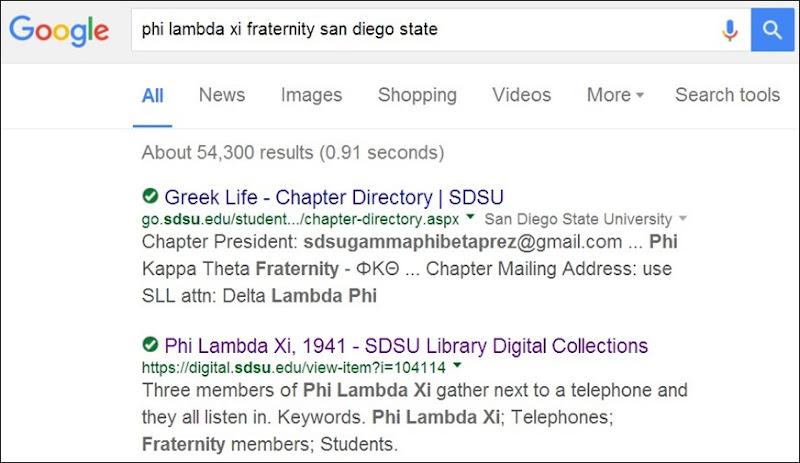 SDSU Phi lambda