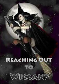 Cover of Anonymous's Book Reaching Out to Wiccans