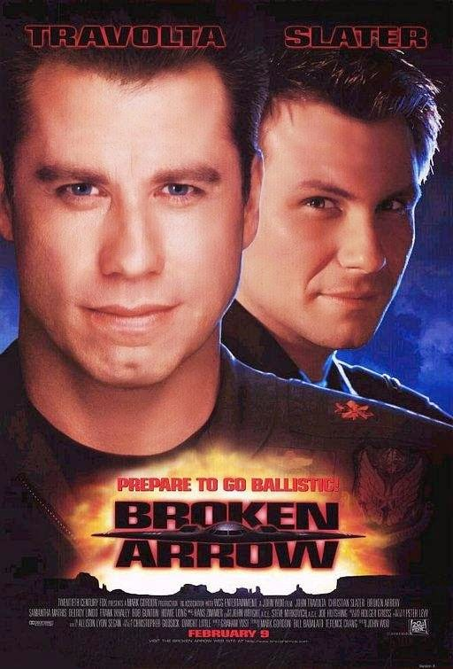 Poster Of Broken Arrow (1996) Full Movie Hindi Dubbed Free Download Watch Online At alldownloads4u.com