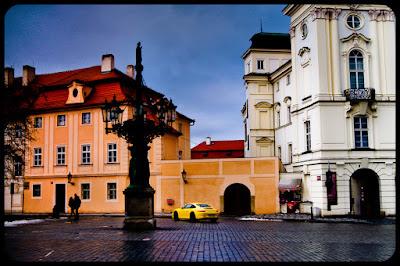 Wzgórze zamkowe w Pradze. Hradczany. fot. Łukasz Cyrus, Ruda Śląska