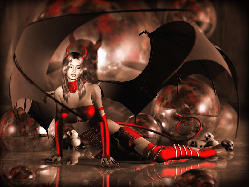 Red Horns, Demonesses