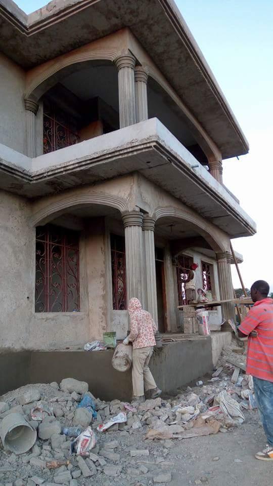 Ujenzi zone urembo wa nguzo madirisha na arch muone for Decoration za nyumba