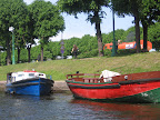 Boats on the Moyka