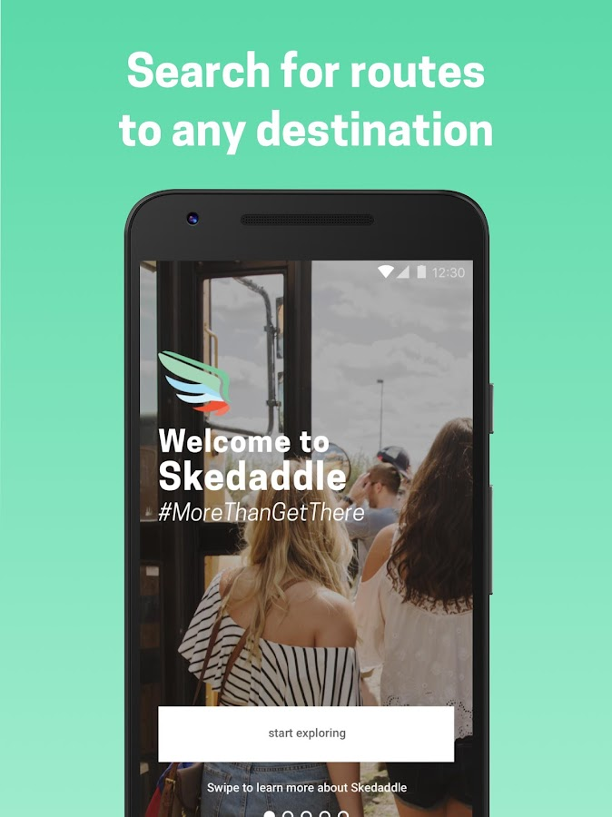 Skedaddle - More than get there.- screenshot