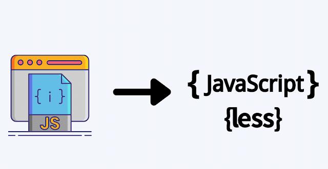 Use Less Javascript code