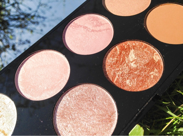Makeup Revolution Ultra Blush and Contour Palette in Golden Sugar Review