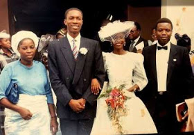 Checkout this throwback of Pastor Adeboye and wife at a wedding ceremony 30 years ago