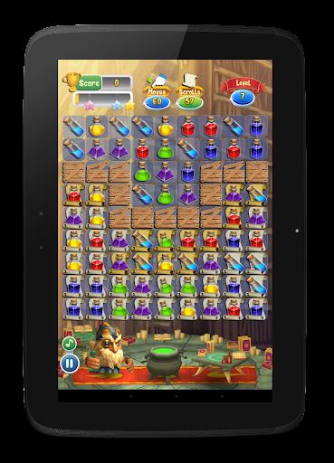 Magic Blender - Magic Potions - Match 3 apktram screenshots 12